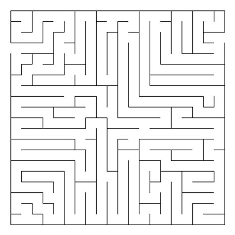 printable mazes to do free coloring pages of medium mazes