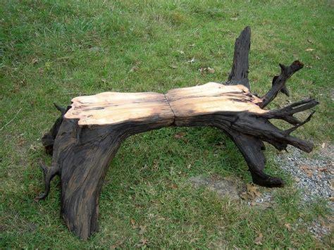 stump bench hemlock stump bench by jaykaypur lumberjocks com