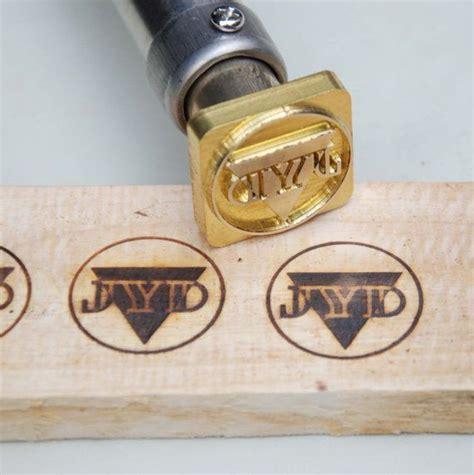 custom branding iron for woodworking temperature adjustable custom wood branding iron with