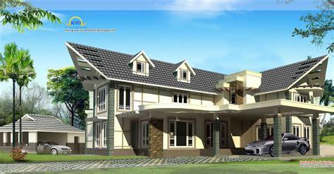 unique 2220 sq feet villa elevation kerala home design beautiful luxury home 3255 sq ft kerala home design
