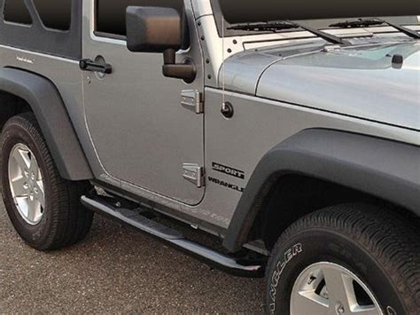 Running Boards For 2014 Jeep Wrangler Jeep Wrangler Side Steps Jeep Wrangler Outpost