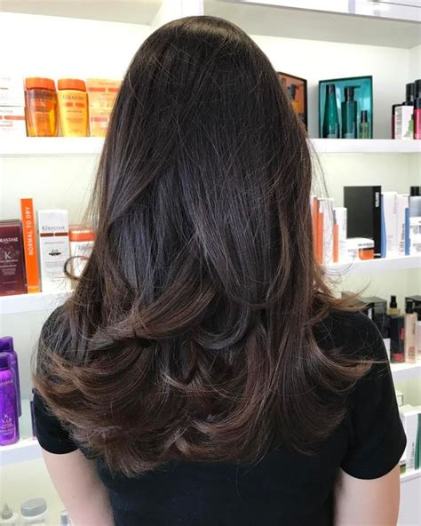 v haircut for thick hair best 25 thick hair hairstyles ideas on pinterest hair