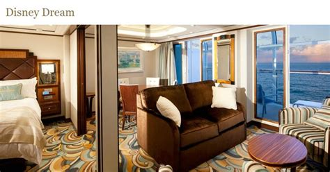 disney wonder one bedroom suite one bedroom suite on the disney dream and disney fantasy