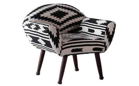 Ikat Arm Chair Design Ideas Chair Arm Black White Ikat Wtp