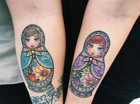 small russian doll tattoo 29 picture russian nesting doll tattoos tattooblend