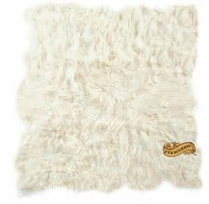fur accent rug fur accents shaggy mongolian sheepskin throw rug by furaccents