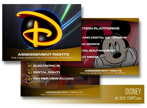 disney templates professional powerpoint presentations and custom