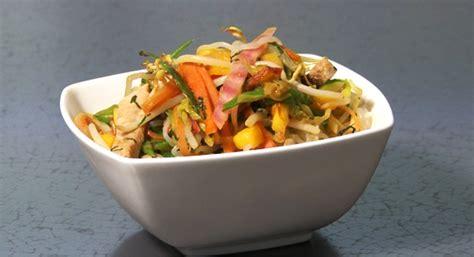 cuisiner konjac recette wok de l 233 gumes et nouilles de shirataki de konjac
