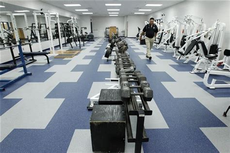 lake travis weight room area schools say they re ready for twisters the blade