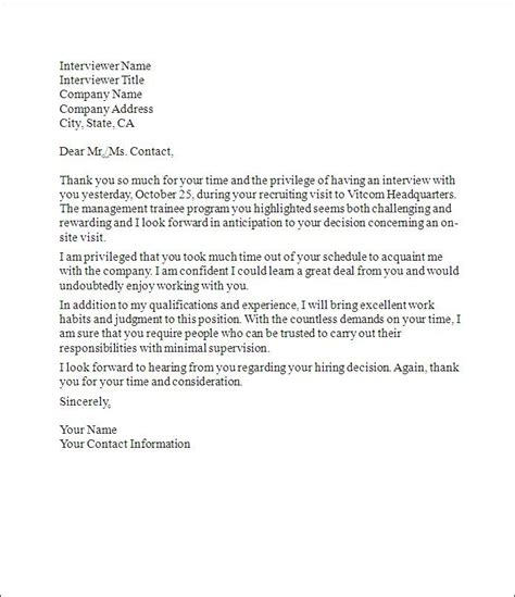 thank you letter after questions 1000 ideas about thank you letter on resume