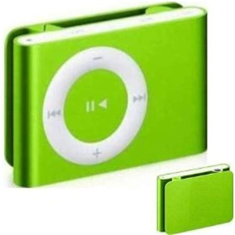 Mini Mp3 Player Green lime green mini clip mp3 player now with 8gb memory