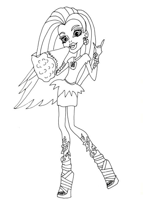 Venus Mcflytrap Coloring Pages Free Printable Monster High Coloring Pages Venus