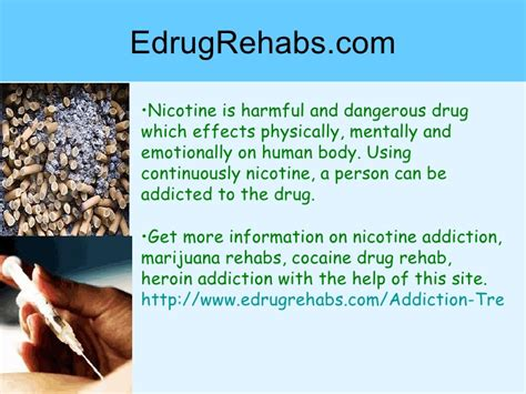 Nicotine Detox Rehab by How To Find Treatment Center For Nicotine Addiction