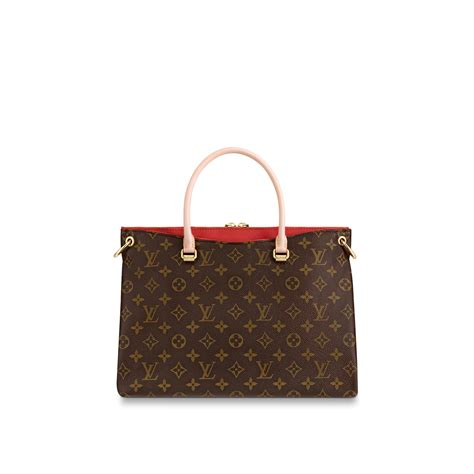 pallas luxury louis vuitton monogram canvas  leather