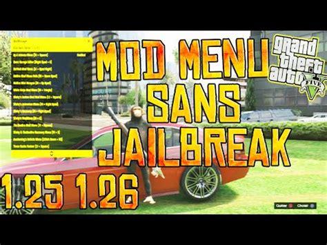 mod gta 5 no jailbreak gta 5 mod menu ps3 download no jailbreak 1 26 ggethair