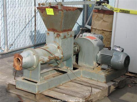 pug mill design west auctions auction second bankruptcy auction of