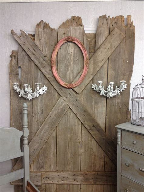 barn door decor for the home
