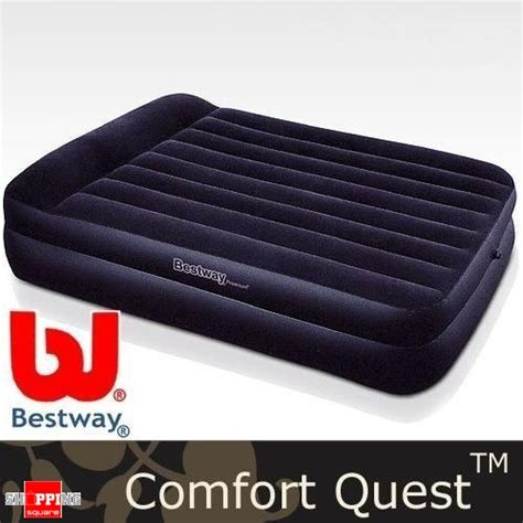 comfort quest air mattress bestway comfort quest deluxe queen size inflatable