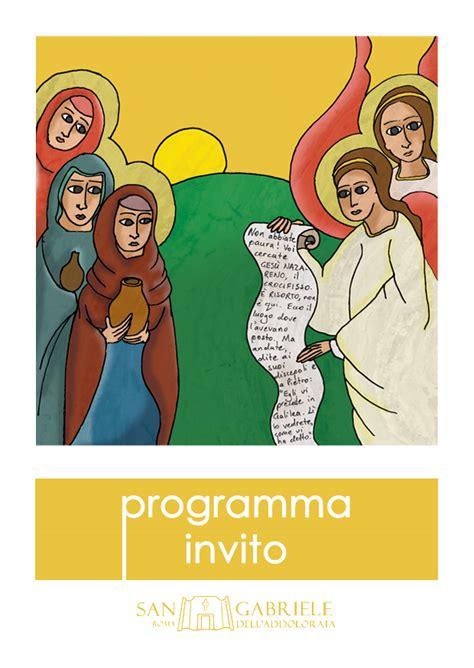 programma settimana santa 2016 parrocchia programma settimana santa 2016 parrocchia san gabriele