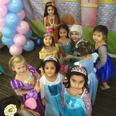 themed birthday party singapore customised princess themed birthday packages in sg