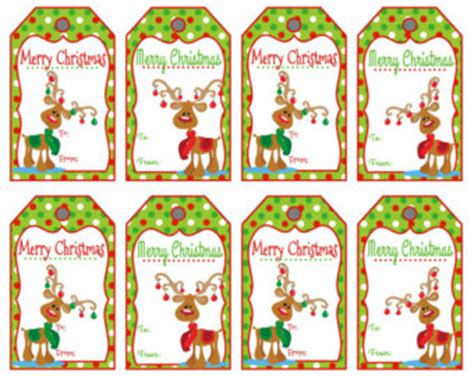 printable reindeer christmas tags merry christmas reindeer clipart