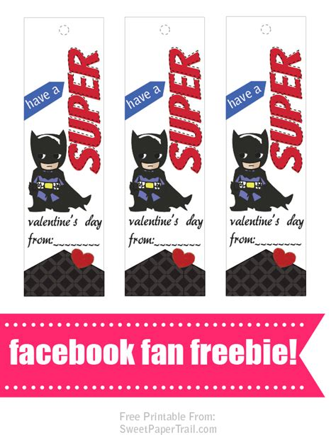 printable batman bookmarks 15 free valentine s day bookmark printables
