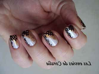 deco ongle nouvel an ongles nouvel an