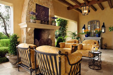 Home Design Decorating Ideas Picture Your Life In Tuscany In A Mediterranean Style Home