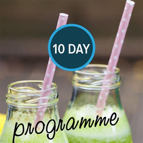 10 Day Grain Detox Results by 10 Detox Programme Christine Bailey