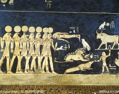 The Tomb Of Ancient Egyptian Pharaoh Seti I Is The Longest