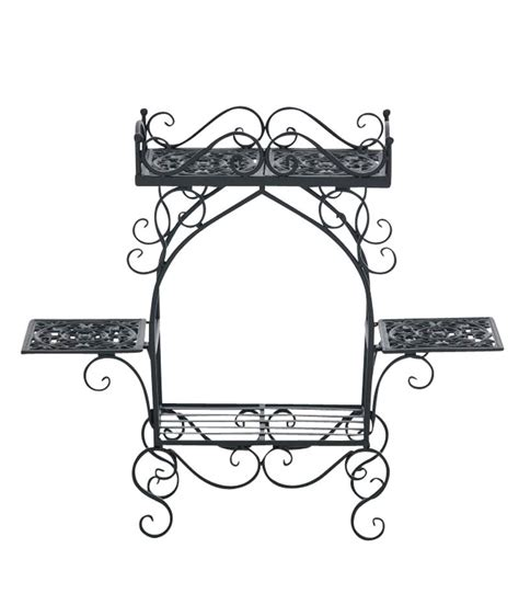 Etagere Vintage Shabby by Flower Rack Estera Plant Stand 4 Shelves Antique Butterfly