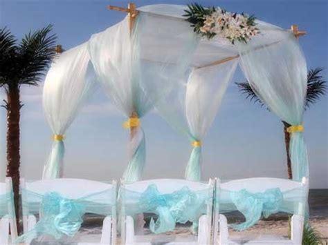 Wedding Decoration Gold And White Florida Beach Wedding Themes Suncoast Weddingssuncoast