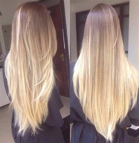 blonde hairstyles ombre blonde ombre hair colar and cut style