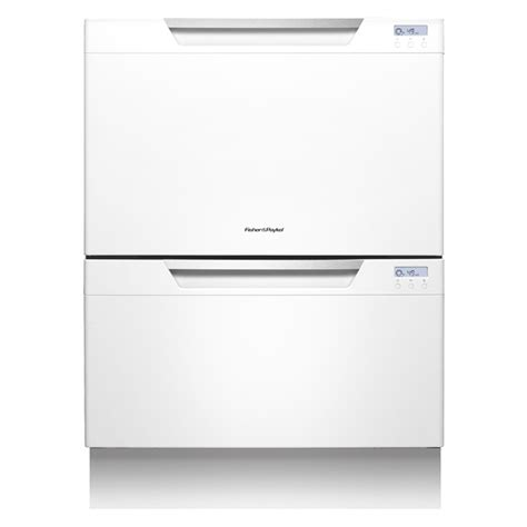 double drawer dishwasher shop fisher paykel 51 5 decibel double drawer dishwasher