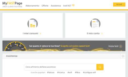 assistenza clienti fastweb mobile fastweb servizio clienti numeri utili e myfast page