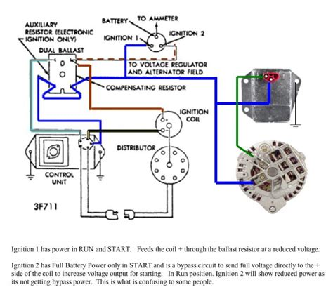chrysler alternator wiring diagram 4 wire alternator