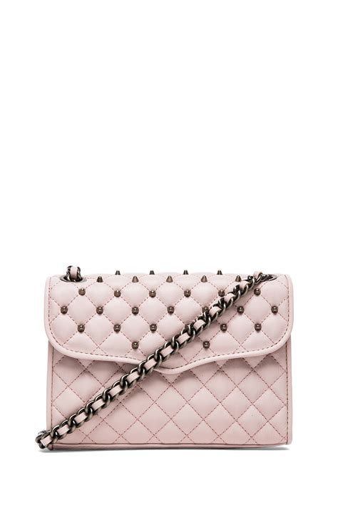 Minkoff Mini Quilted Affair by Minkoff Quilted Mini Affair With Studs In Pink Lyst