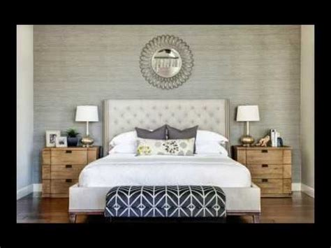 36 modern master bedroom ideas with beautiful wallpaper