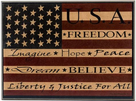 Americana Wall Decor Plaques Signs by Americana Flag Plaque Wooden Kitchen Signs American