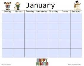 1 2 3 learn curriculum blank monthly calendar templates