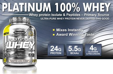 Whey Protein Platinum muscletech platinum 100 whey fuel