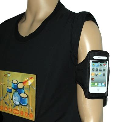 sports armband 46cm for iphone 4 4s black jakartanotebook
