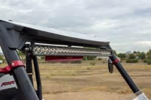led light bar for rzr utv inc polaris rzr xp 1000 900s roof 30 quot led