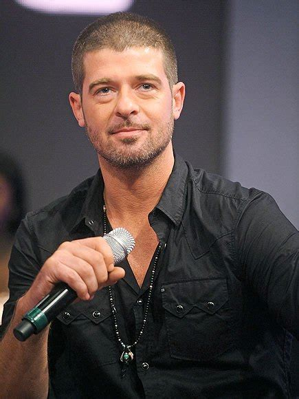robin thicke i told my the and that s why she - Robin Hecke