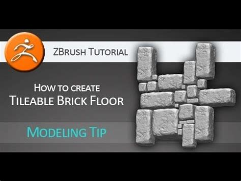 zbrush tutorial tools tutorial how to create tileable brick floor in pixologic