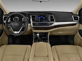 Toyota Highlander Interior Photos Toyota Highlander Prices Reviews And Pictures U S News