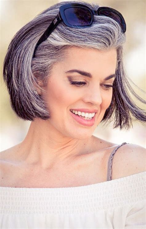 how to get gorgeous salt and pepper hair 506 best silver transitions images on pinterest silver