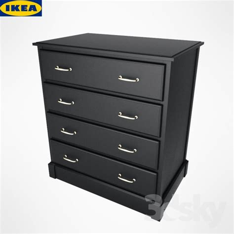 3d models sideboard chest of drawer ikea undredal 3d models sideboard chest of drawer ikea chest undredal