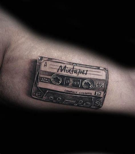 tape tattoo designs 50 cassette designs for tattoos for
