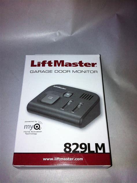 829lm liftmaster garage door monitor 829lm garage door monitor